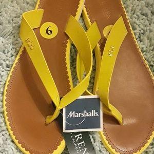 Ralph Lauren never worn flip-flops